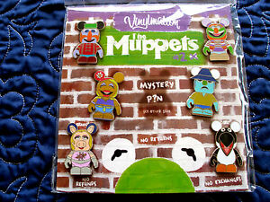 Disney-MUPPETS-Vinylmation-SERIES-2-7-pin-Mystery-Booster-Set