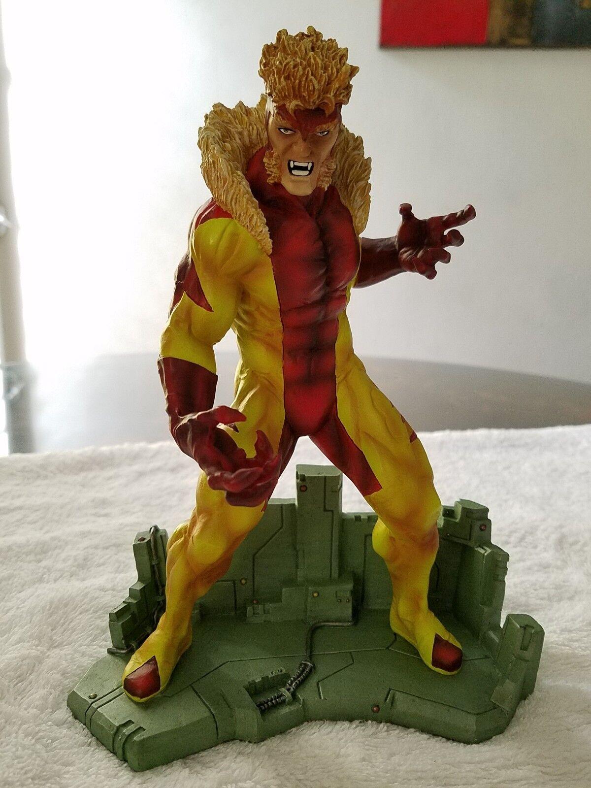 Diente de sable 8  estatua Diamond Select Juguetes Marvel X-men
