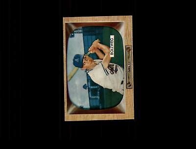 Sports Mem, Cards & Fan Shop 1955 Bowman 54 Don Bollweg Ex-mt #d492126