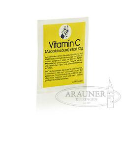 3x10g-Vitamin-C-Ascorbinsaeure-von-Arauner-Kitzinger-fuer-die-Weinherstellung