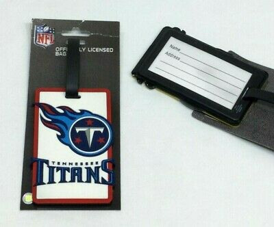 NFL Tennessee Titans Luggage Tag