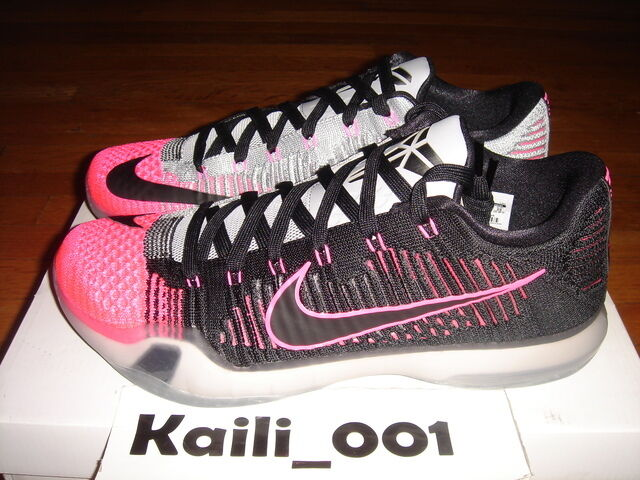 Nike Kobe X Elite Low Size 11 Mambacurial 747212-010 HTM Multicolor Grinch B