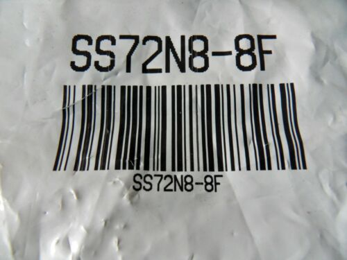 """One New Snap-Tite  1//2/"""" 316 SSI Nipple SS72N8-8F Free US Shipping"""