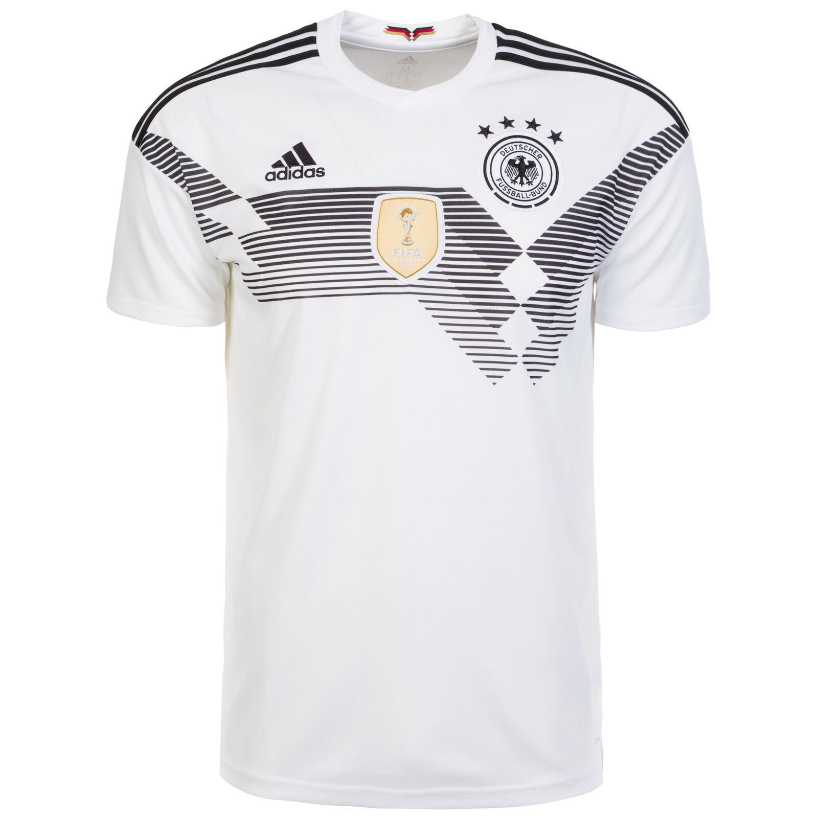 Adidas Performance DFB Trikot Home WM 2018 Herren weiß   schwarz NEU  | Billig ideal