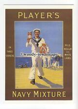 ad0683 - Players Navy Mixture Tobacco - Navy Sailor -  Modern Advert Postcard