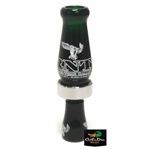 RNT RICH-N-TONE MVP MAX VOLUME SINGLE REED DUCK CALL MALLARD GREEN ACRYLIC