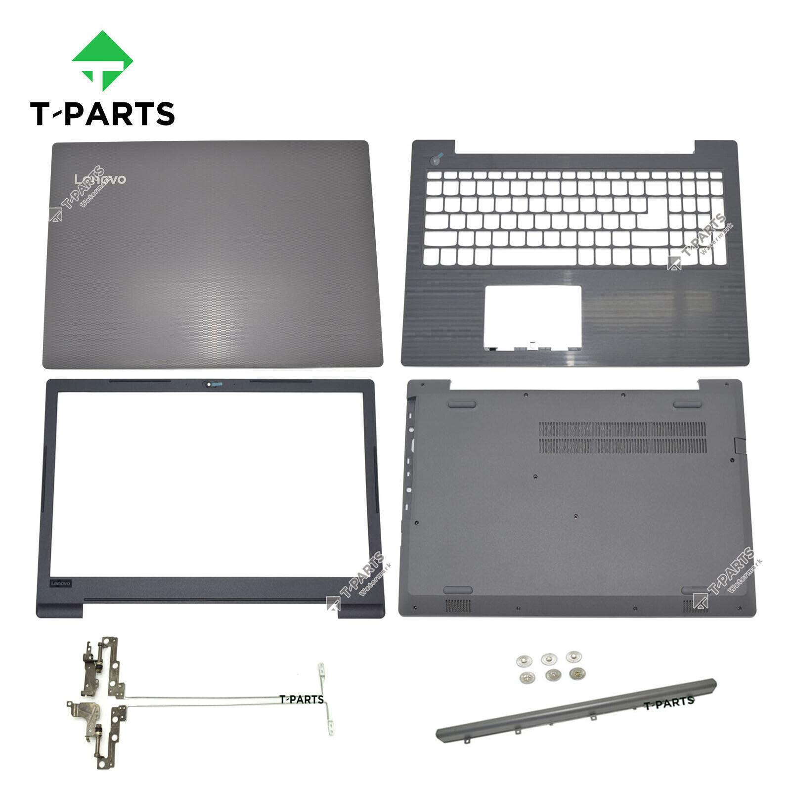 New for Lenovo V130-15IKB LCD Back Cover Lot &Bezel&Palmrest&Base+Hinge+Cap+Scr