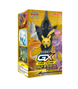 Genuine-POKEMON-GX-TAG-TEAM-Cards-Tag-All-Stars-15Packs-Booster-Box