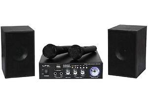 Karaoke-Set-Star-2-MKII-Amplifier-2X20W-RMS-2-Speakers-2-Micro-USB-SD-Bluetooth