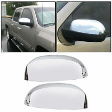 For 2007 2013 Chevy Silverado Gmc Sierra Chrome Top Mirror Covers Replacement Fits 2007 Chevrolet Suburban 1500