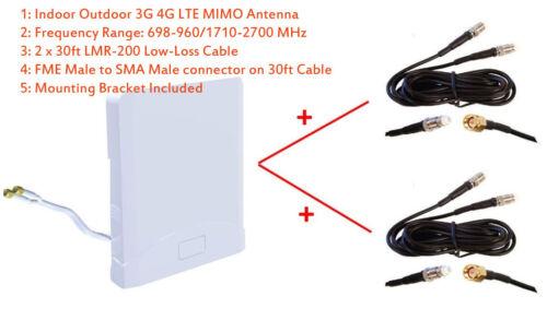 3G 4G LTE Omni MIMO Antenna for Bell 4G LTE NETGEAR MBR1516 MBR 1516 Turbo Hub