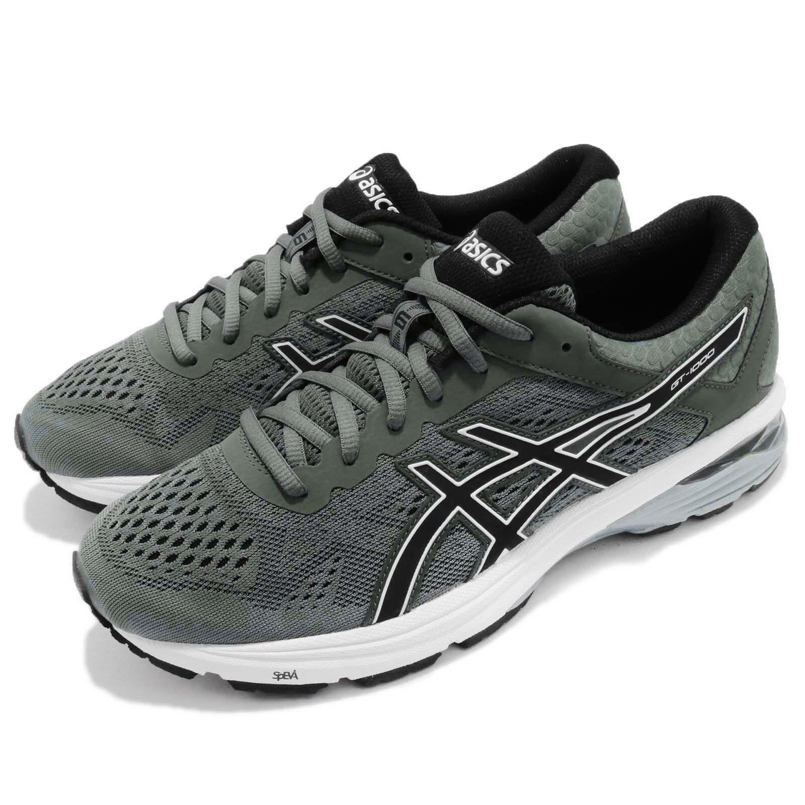 Asics GT-1000 6 VI Dark Forest nero Men Running scarpe Trainers T7A4N-8290