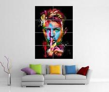 DAVID BOWIE ZIGGY STARDUST GIANT WALL ART PHOTO PRINT POSTER