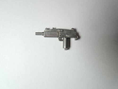 gun army weapons for LEGO minifigure CUSTOM Silver grayUZIX1