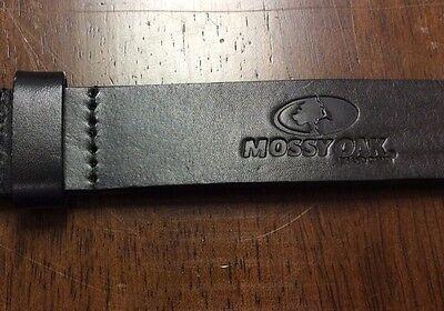 Boy/'s Black Genuine Leather Mossy Oak Belt Size 24 RLE