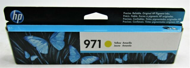2-GENUINE FACTORY SEALED  HP 951XL YELLOW  INK CARTRIDGE EXP. 2019
