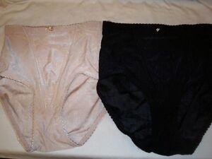 NEW-Carol-Wior-Set-of-2-Jacquard-Panties-Medium-Control-Style-A94884-Size-Small
