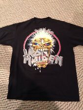 IRON MAIDEN Vintage T Shirt 80's Tour Concert 1988 HEAVY METAL  Seventh Son Tour