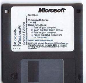 Details about windows 98se boot disk with cd rom support freash copy
