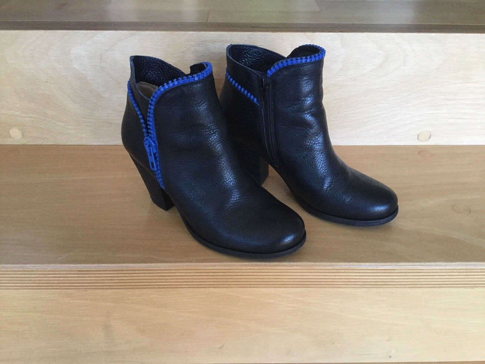 Ankle Stiefel, Stiefeletten, Größe 40, Schwarz, L37,