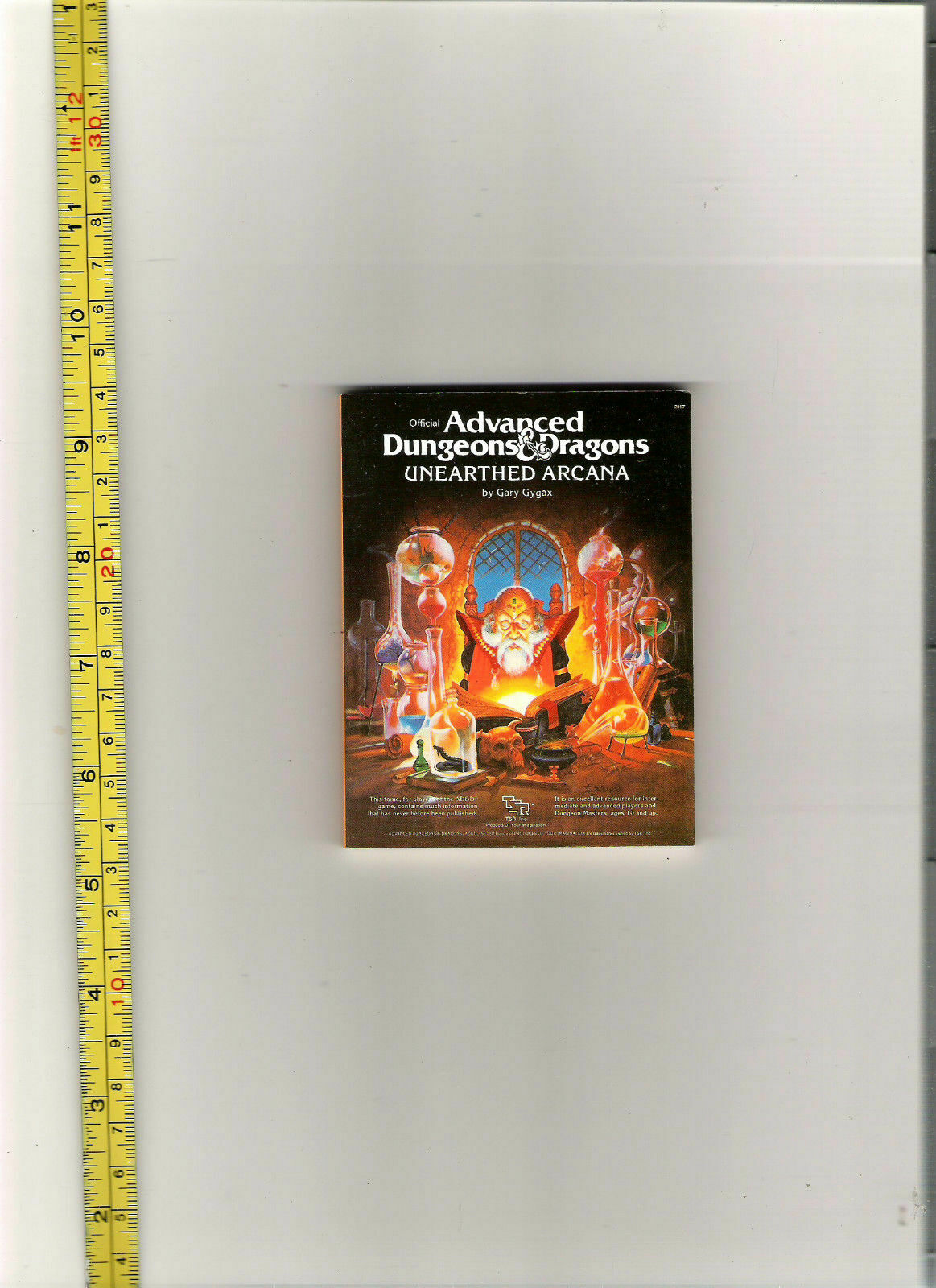 TSR AD&D MINIATURE 25TH ANN REPRINT 1 7th SIZED UA UNEARTHED ARCANA  2017