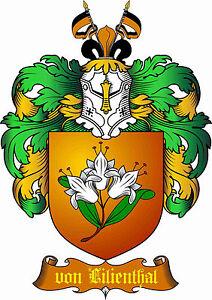 ADELSTITEL-GRAF-von-LILIENTHAL-Fuerst-Baron-Herzog-Freiherr-Urkunde