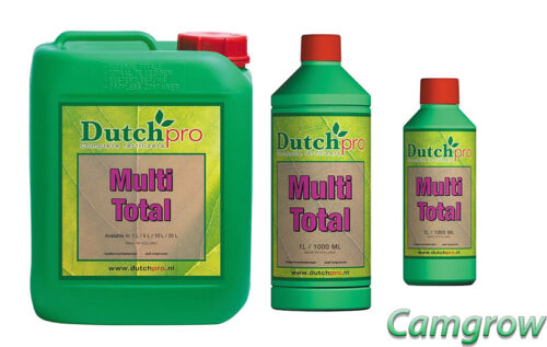 Dutch pro-multi 250 ml Total - 1 L - 5 L-Aide Nutrient Uptake Hydro/Sol/Coco