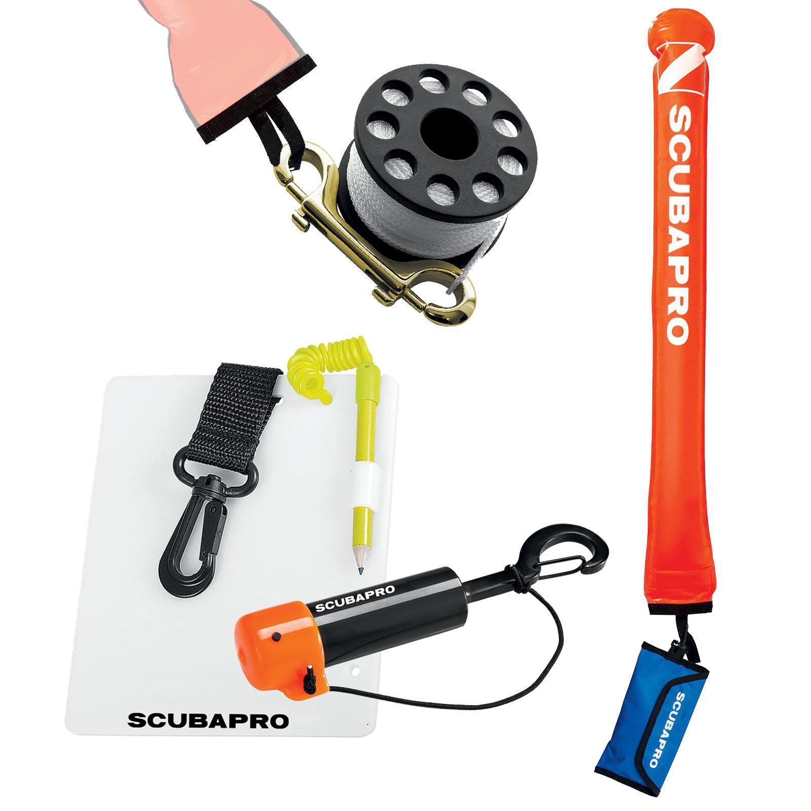 Scubapro Sicherheits-Set - DekoBoje, Reel, UW-Shaker, UW-Schreibtafel  | Verkauf