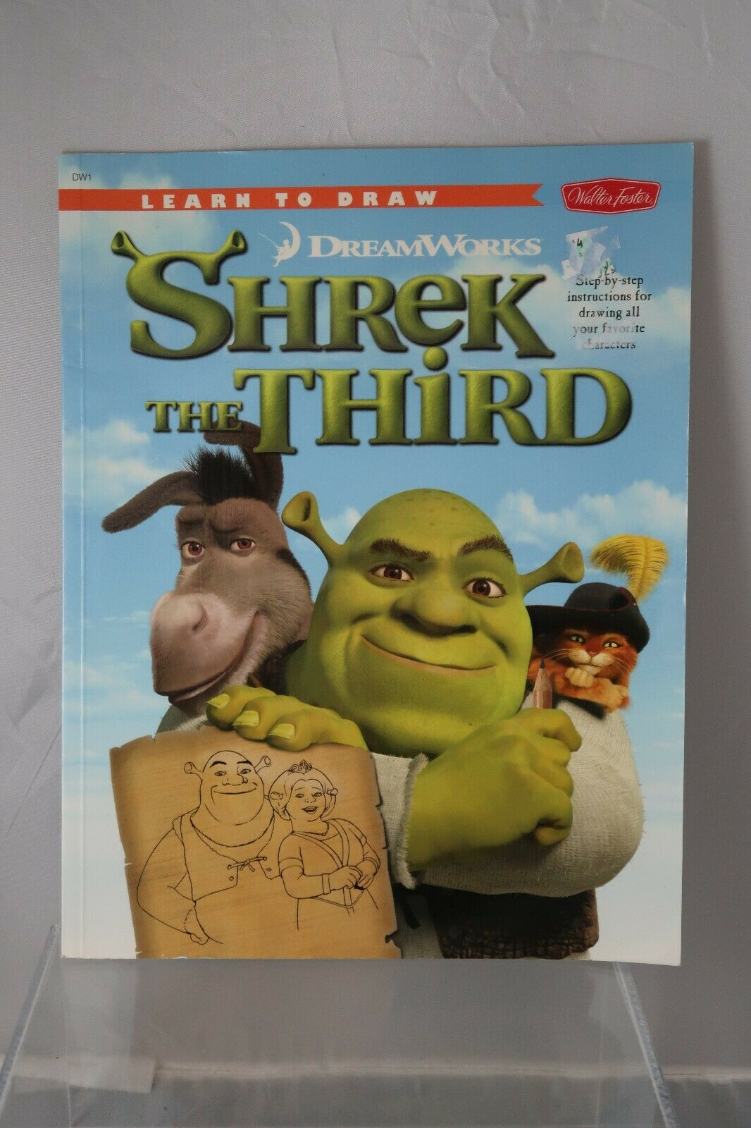 Learn To Draw Ser Learn To Draw Dreamworks Shrek The Third Step By Step Instructions For Drawing All Your Favorite Characters By Dreamworks Inc Staff 2007 Perfect For Sale Online Ebay