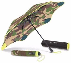 BLUNT XS/_Metro ORANGE Compact Collapsible//Folding Automatic Umbrella