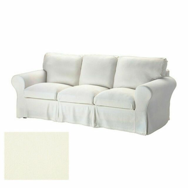 Ikea Rp Stenasa White 3 Seat Sofa Slipcover Cover Stenåsa New 40272758