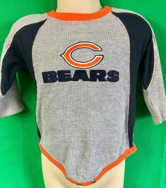 B80 Nfl Chicago Bears Reebok Termica Baby-grow 12m Vendita Calda 50-70% Di Sconto