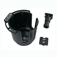 Scotty Drink Holder With Button & Rod Holder Mounts, 311bk