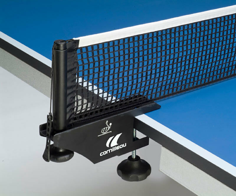 Cornilleau ITTF Competition Table Tennis Net & Post set, Steel posts, Cotton Net