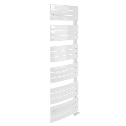 Termoarredo Lazzarini 1380 x 550 bianco da design con attacco laterale