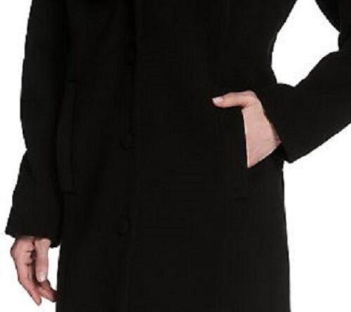Luxe Coat Zoe Lille Adrienne Ny Collar Rachel Front Landau Button Faux Fur W rIrOqfx