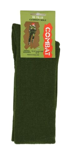 1 x Mens Thermal Padded Sole 40/% Wool Rich Commando Army Combat Socks UK 6-11