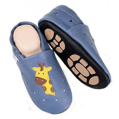 Pantofole's Baby Scarpe Pantofole Liya - #698a Estate Magari Giraffe-