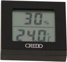 CREDO Digital-Hygro/Thermometer schwarz 1.7x5.3x5.6cm, mit Magnet