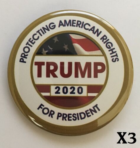 Donald Trump 3 Campaign Button Pack for $5 Special Button 3003