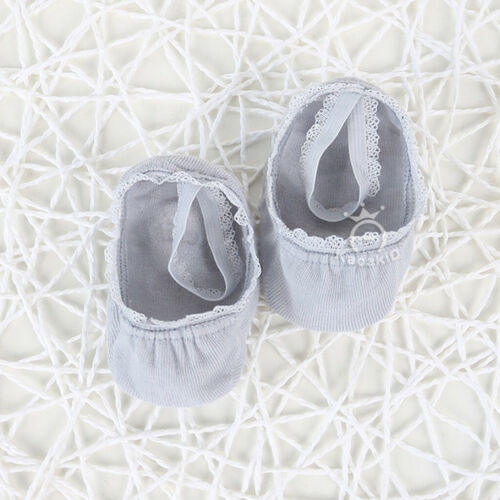 1 Pairs Newborn Baby Girls Lace Bow Cotton Socks Infant Toddler Kids Soft Sock