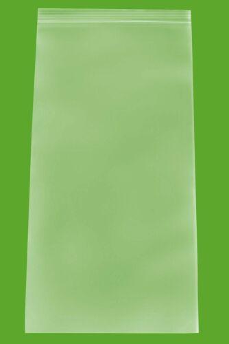 "2 Mil Clear Reclosable Bags 6/"" x 12/"" Freezer Storage Top Seal Polybag 1000 Pcs"