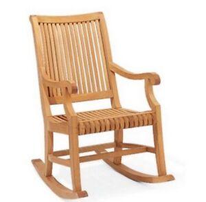 Giva Grade-A Teak Outdoor Garden Patio Rocker Rocking Chair Furniture New