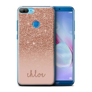 hot sale online ec9bf ef8ce Details about Personalised Custom Glitter Effect Phone Case for Huawei  Honor 9 Lite/Cover