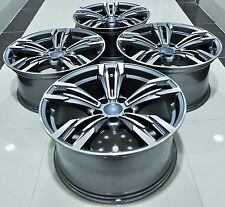 """18"""" NEW BMW M6 STYLE STAGGERED WHEELS RIMS FITS 1 2 3 4 5 SERIES Z3 Z4 X3 5456"""