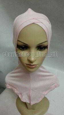New Style Cotton Cross Muslim Cap Islamic Inner Scarf Hat Ninja Sport Hijab