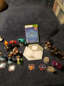 Microsoft XBOX 360 Disney Infinity 2.0 Video Game Set + HUGE Lot 17 Play Pieces