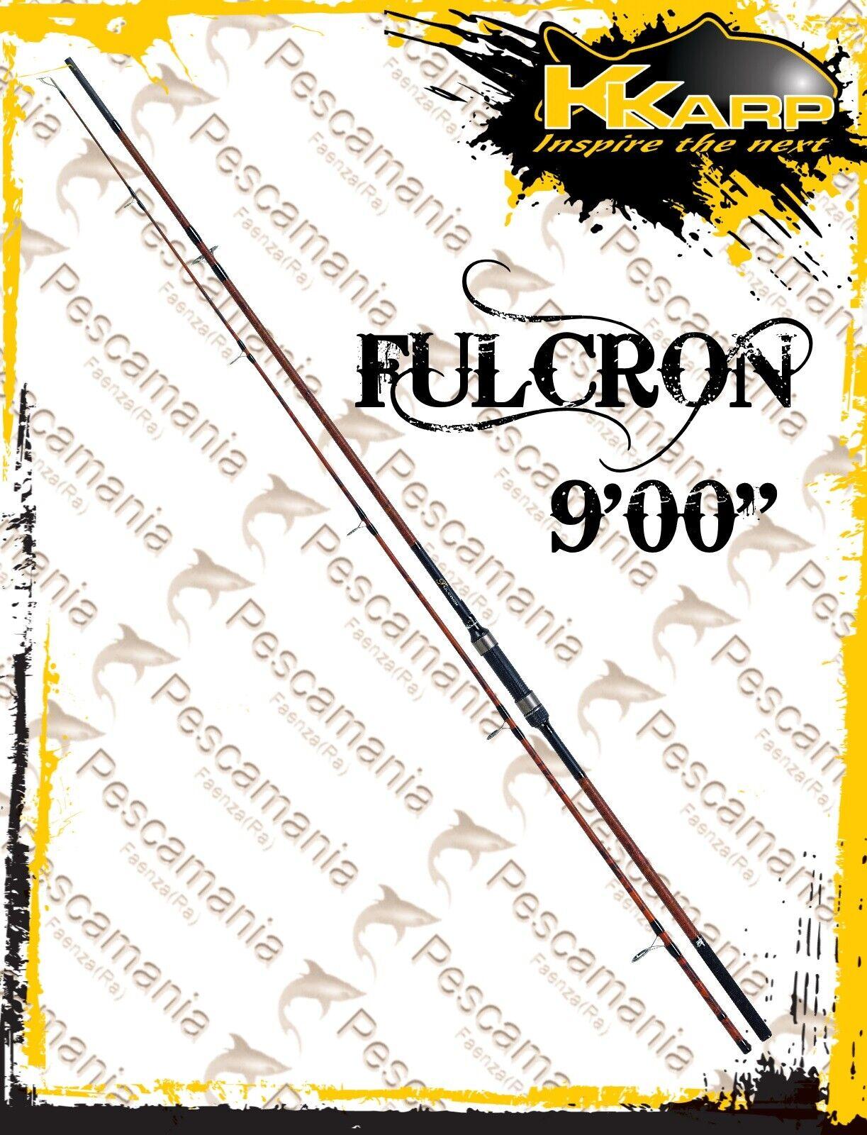 Canna KKarp FULCRON 9'0 3D CAMO 2 sezioni autoppesca autop pesca autopa