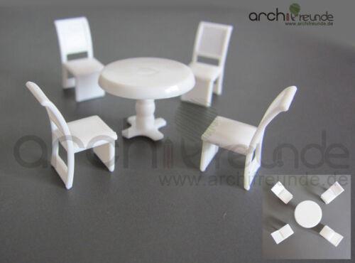 5er set modelo mesa set para modelismo 1:50,1:75//87,1:100 pista 0//00//h0//tt