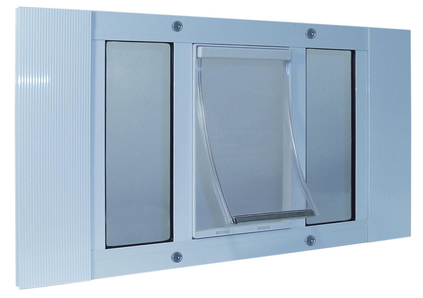 33  -38  WINDOW SASH Pet Cat Dog DOOR 7 x11  Flap